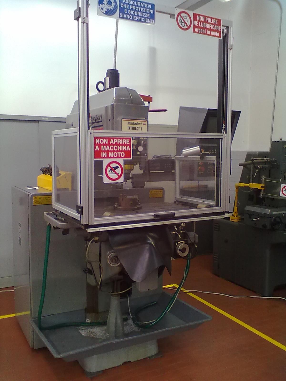 BRUMAT e i ripari per macchine utensili